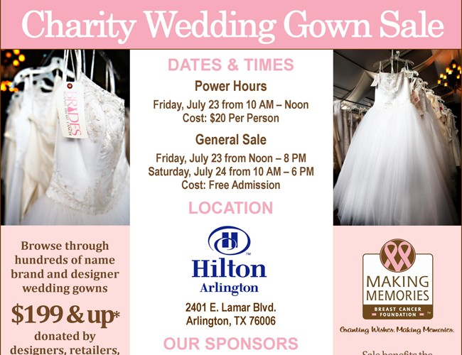 Brides Against Breast Cancer Nationwide Dress Tour :: COMING TO DALLAS!