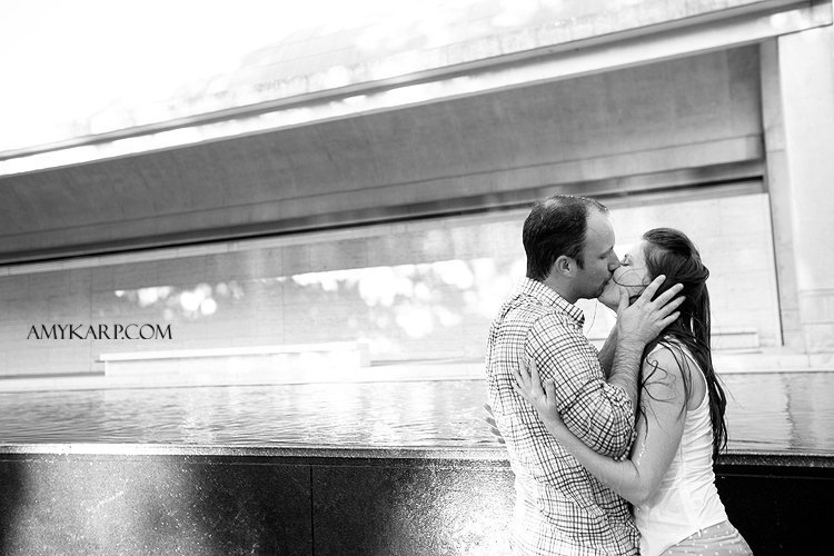 shannon + brian | Fifty-Five Engagement Frames from Fort Worth Stockyards