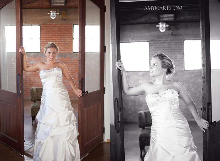 bridals at hickory street annex of ashley brown featured in texas wedding guide magazine by modern unique dallas wedding photographer amy karp photography