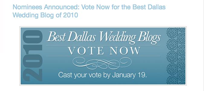 Dallas Wedding Planner has announced the Best Dallas Wedding Blogs…