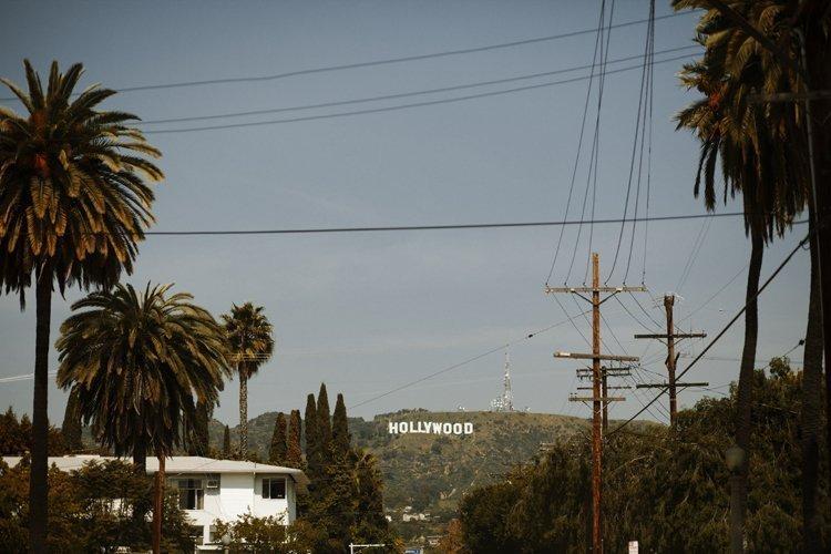 hello from hollywood california!