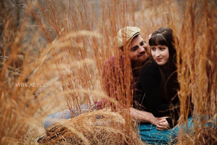 Tulsa Oklahoma =  Awesome Scenery for Engagement Portraits.
