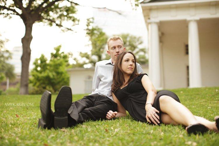 Kim & Doug's Turtle Creek & Arlington Hall Engagment Portraits (sneak peek!)