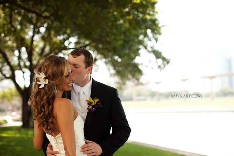 Danielle and Patrick's Wedding in Las Colinas sneak peek!