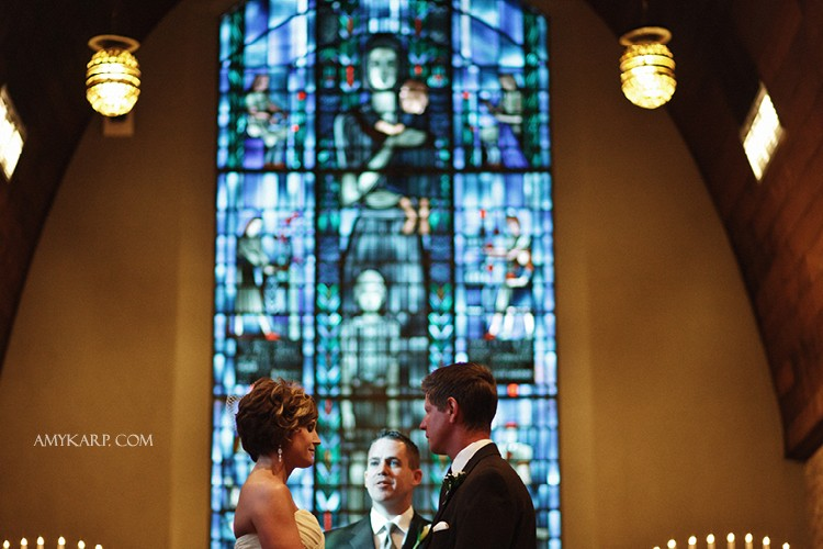 Rebecca and Troy's Denton Little Chapel in the Woods Wedding