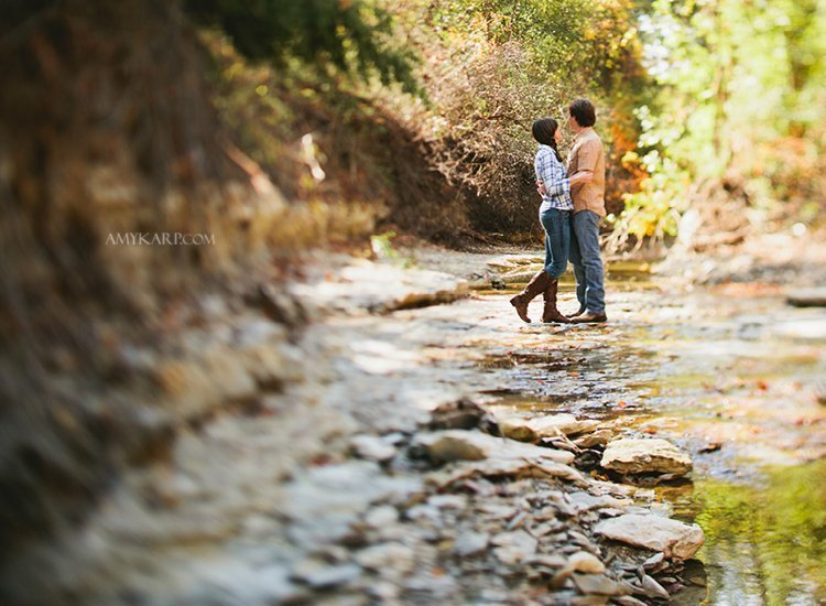 Michelle and Richard's Engagement Session in Richardson