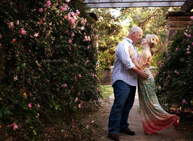 dallas fort worth wedding photographer at botanic gardens (8)