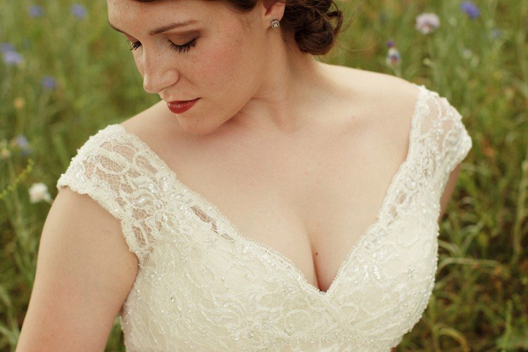 Kati's Bridal Portraits in the Texas Wildflowers