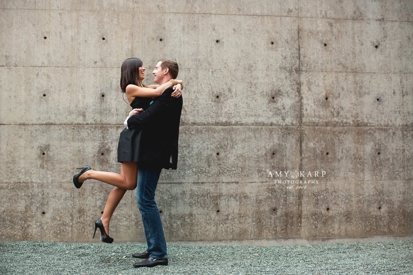 Jennie and Robbie's Dallas Engagement Session