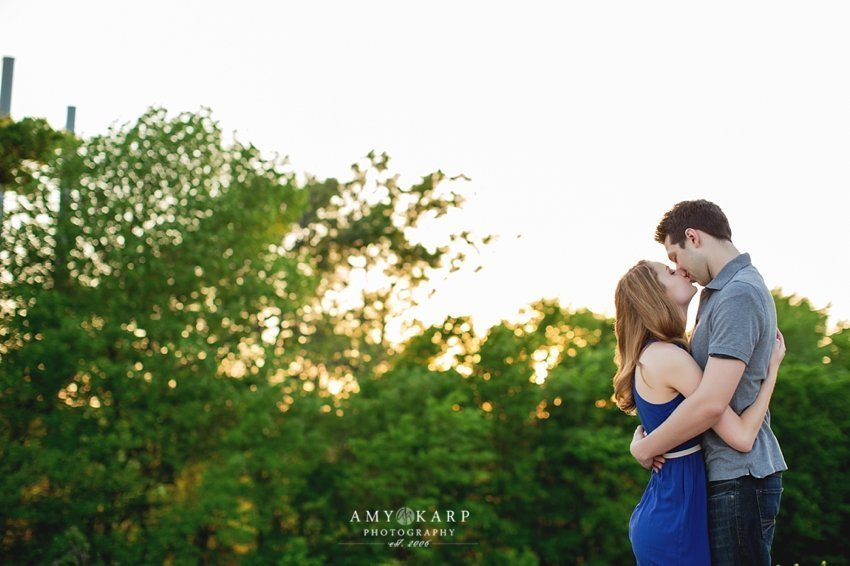 Adam & Megan's Watter's Creek Engagement Session