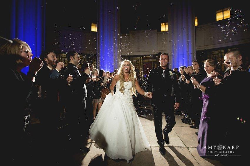 Beth and Nathan's Hall of State Wedding