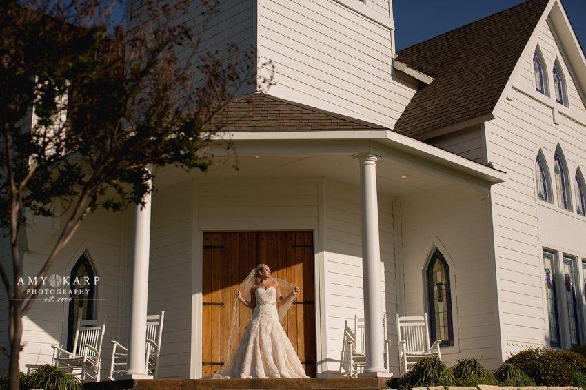 Rachel's Chapel Bridal Portraits