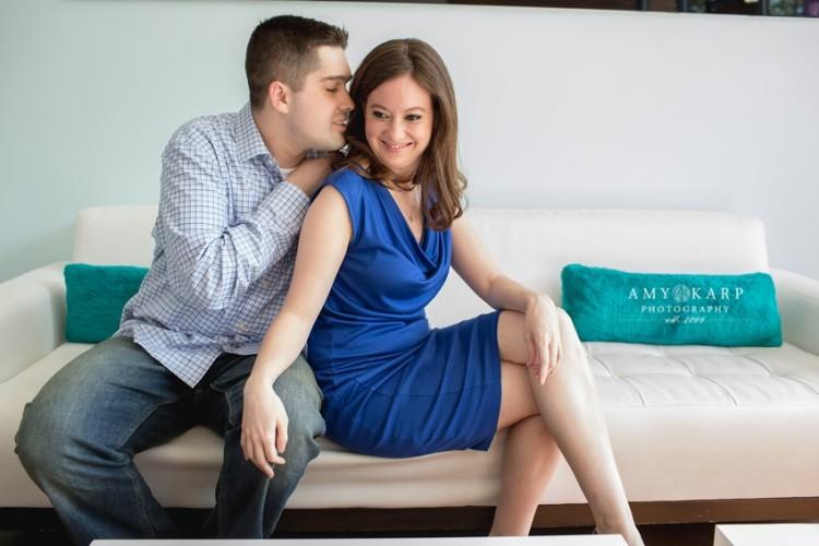 Amy & Joe's Plano Engagement Session