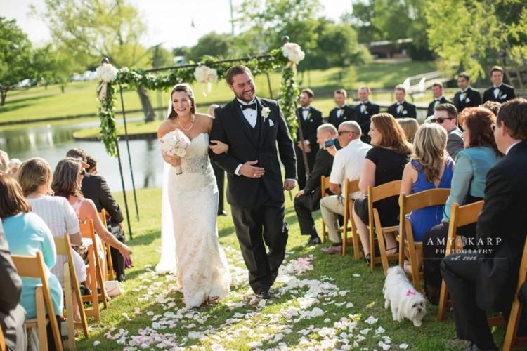 Kara and Danny's Outdoor Wedding in Rockwall Texas