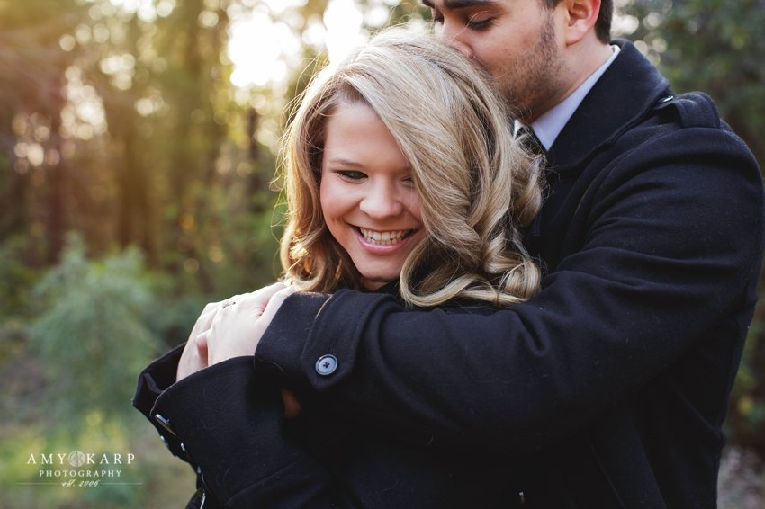 Ashley and Chad's Dallas Engagement Session