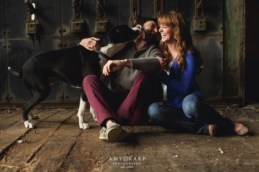 Ashley and Aaron's McKinney Cotton Mill eSession