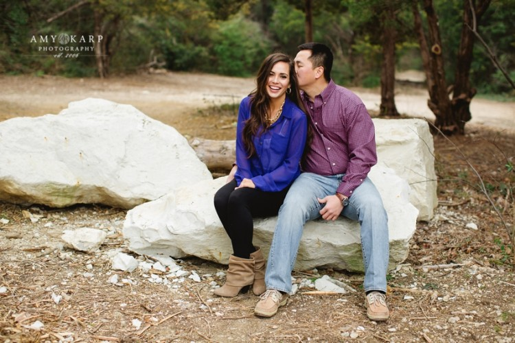 Katy and Jon's Dallas Engagement Session