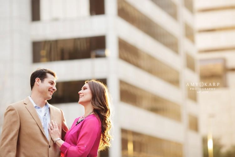 Ashley & Kyle's Dallas Engagement Portraits