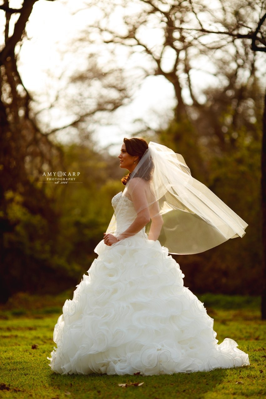 Bridal Portraits in Fort Worth with Amber