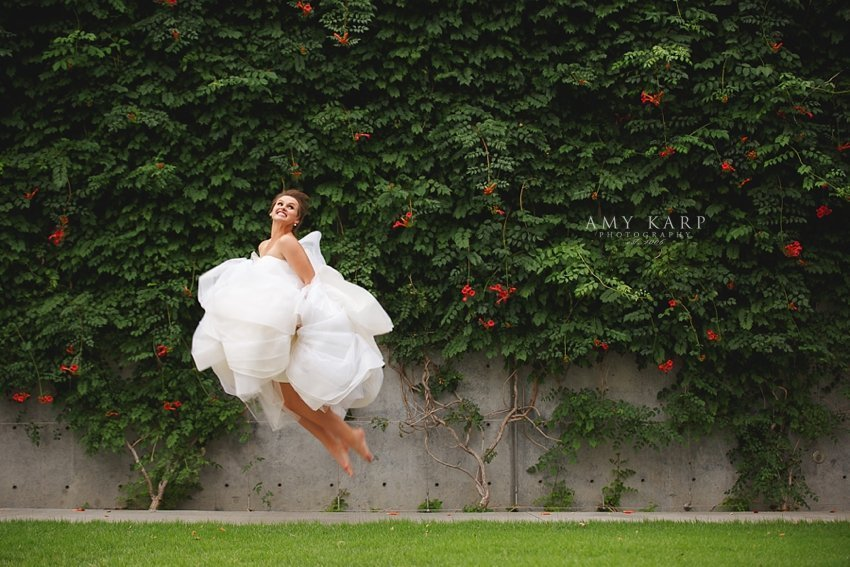 Dallas Crescent Hotel & Arts District Bridals with Kathryn