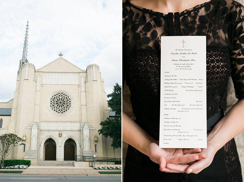 dallas wedding photographer park cities presby church