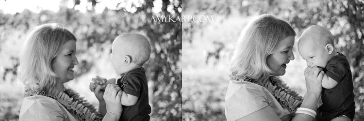 the wehr family portraits photographed by dallas wedding photographer amy karp photography