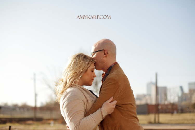 Andrea and Paul's Engagement Session in Dallas