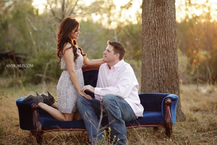 Engagement Session in Houston with Trishia and Mike