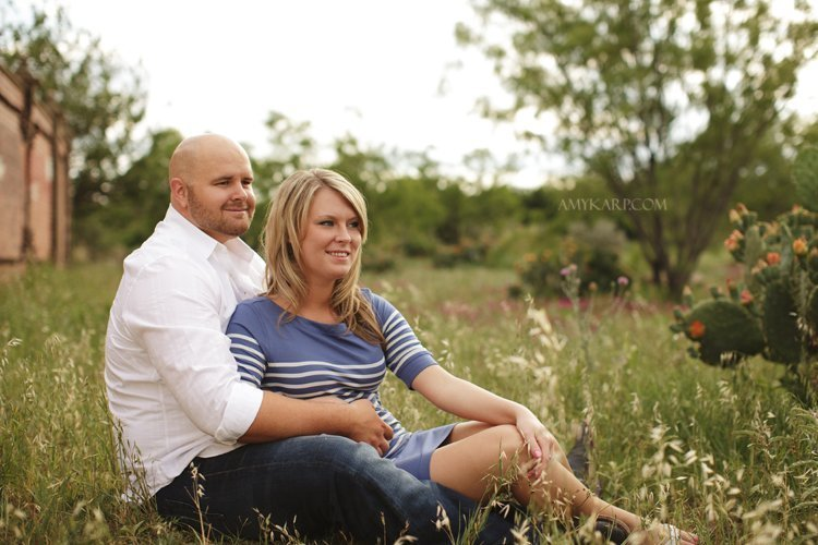 Emily and Shelby's Engagement Portraits in Fort Worth