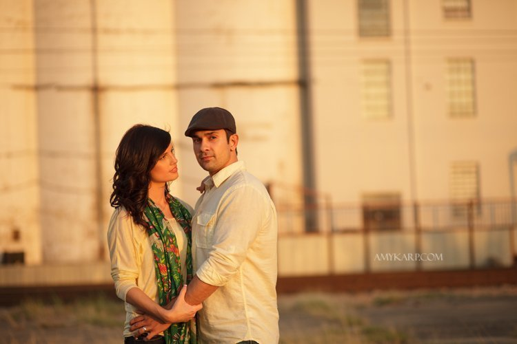Downtown Dallas Engagement Portraits with Melissa and Mark