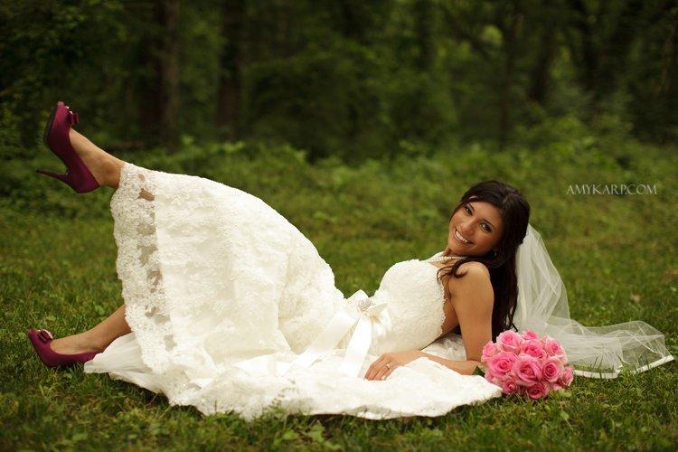 richardson texas outdoor bridal session by dallas wedding photographer amy karp (10)