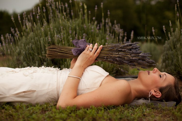wedding day after session in a lavender field with dallas wedding photographer amy karp (2)
