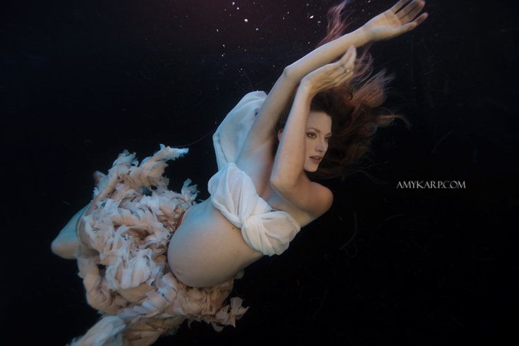 dallas underwater maternity photography by wedding photographer amy karp (2)