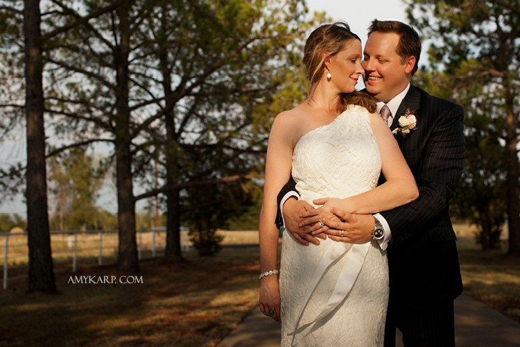 Jill & Patrick's Intimate Wedding in East Texas