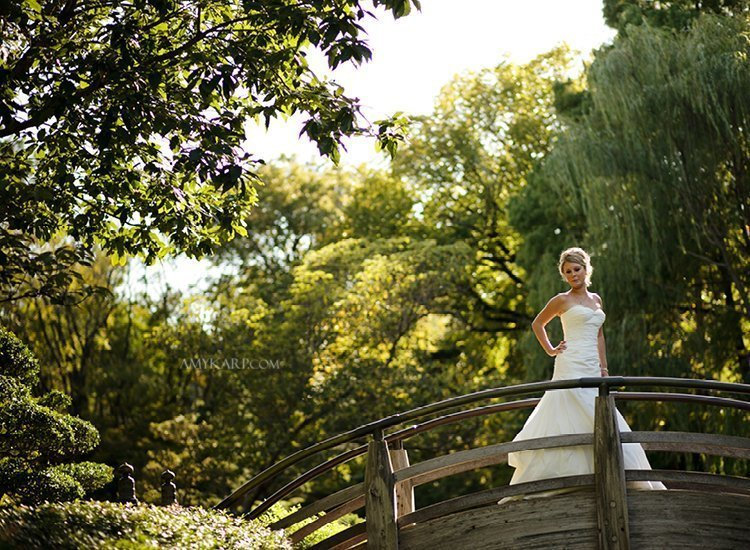 Fort Worth Botanical Gardens Wedding