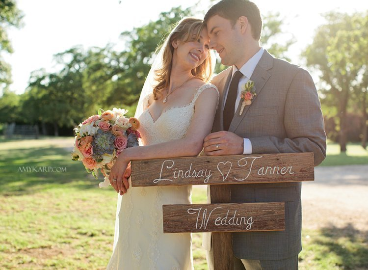 Lindsay and Tanner's Texas Vineyard Wedding at Lone Oak Winery