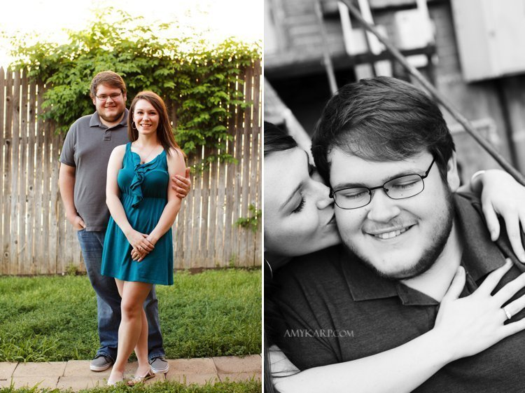 dallas wedding photographer with kati and josh at UNT (1)