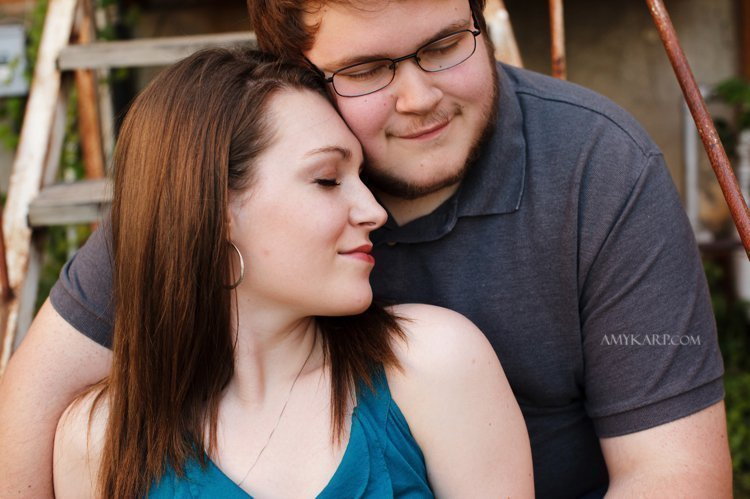 Kati and Josh's UNT Engagement Session