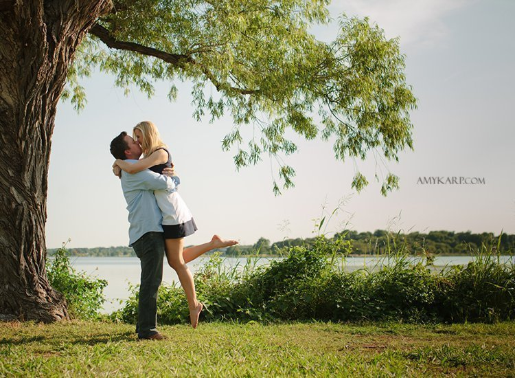 dallas wedding photography with annie and matt at white rock lake (6)