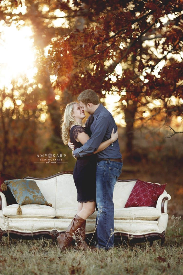 Rachel and Ethan's Oklahoma Engagement Session