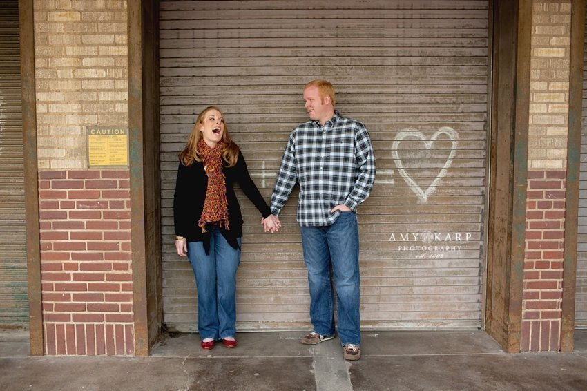 Alisia and Brian's Fort Worth Engagement Session