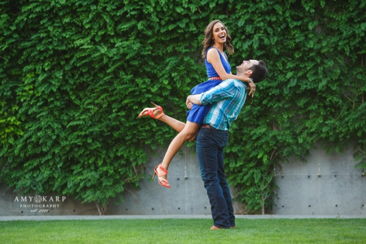 Dallas Engagement Portraits with Catherine and Emil