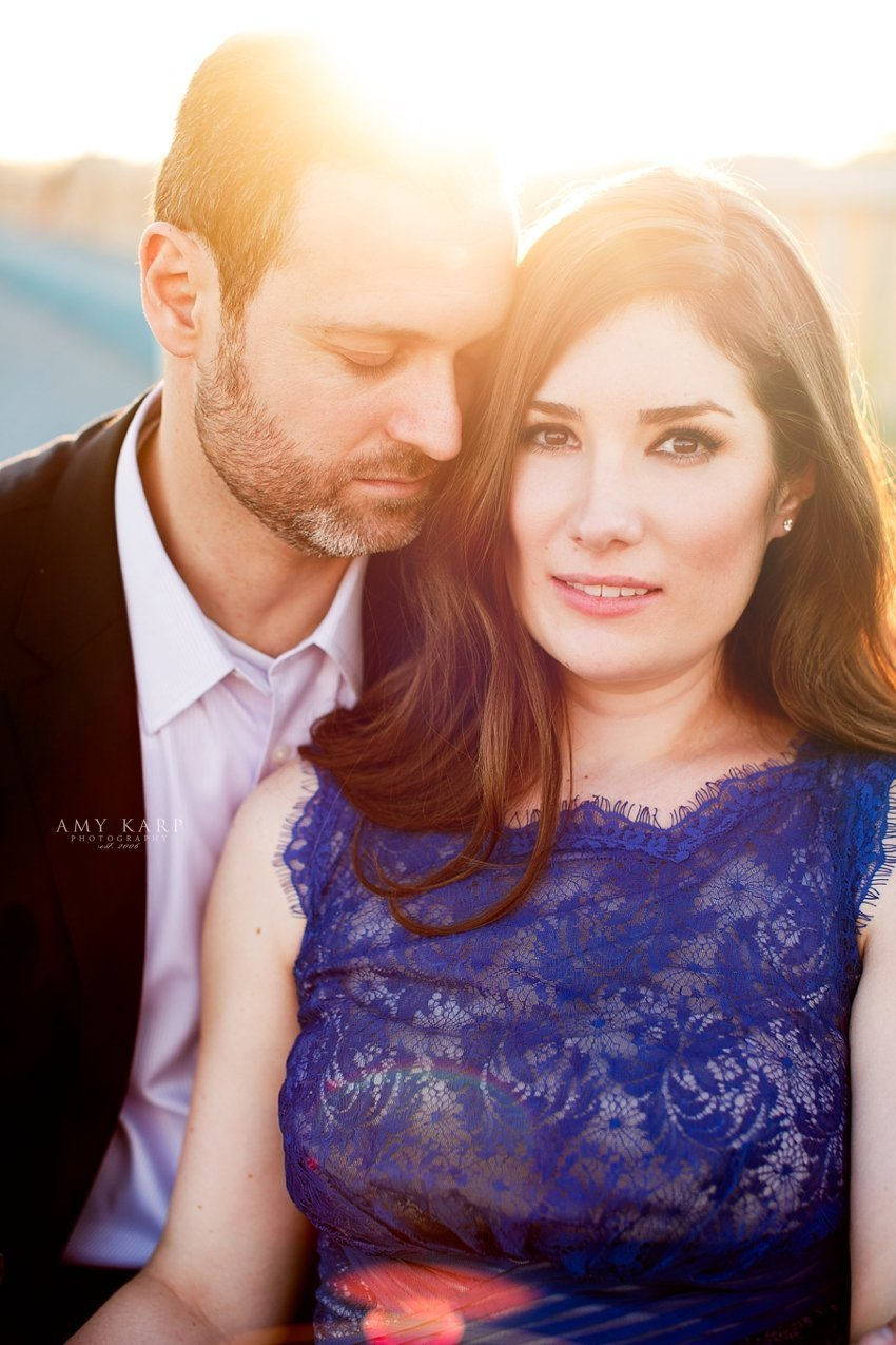 Aynsley and Gennady's Downtown Dallas Engagement Session