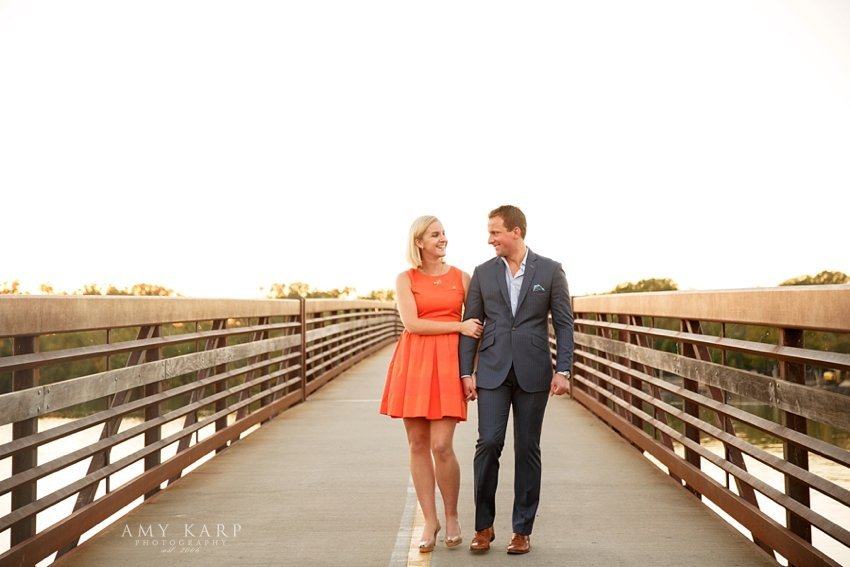 Dallas Engagement Session at White Rock Lake with Sara & Justin