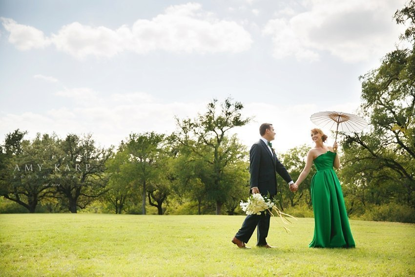 A Surprise Fort Worth Wedding for Angela and Ben