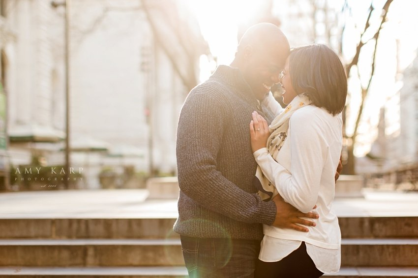 dallas engagement portraits